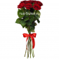 Роза красная 70см - 7, Лента